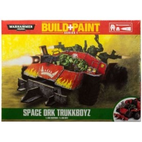 "Настольная игра ""Warhammer 40.000. Build+Paint - Space Ork Trukkboyz"""