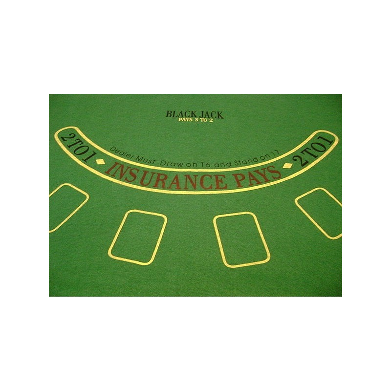 Cloth for poker
