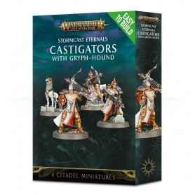 "Настольная игра ""Warhammer. Age of Sigmar. Castigators with Gryph-hound. Easy to Build"""