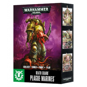 "Настольная игра ""Warhammer 40.000. Death Guard Plague Marines. Easy To Build"""
