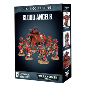 "Настольная игра ""Warhammer 40.000. Start Collecting! Blood Angels"""