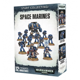 "Настольная игра ""Warhammer 40.000. Start Collecting! Space Marines"""