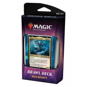 Magic The Gathering. Throne of Eldraine Brawl Deck: Wild Bounty