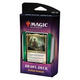 Magic The Gathering. Throne of Eldraine Brawl Deck: Savage Hunger