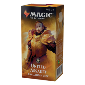 Magic The Gathering. Challenger Deck: United Assault