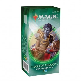 Magic The Gathering. Challenger Deck 2020: Flash of Ferocity