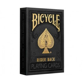 Карты Premium Bicycle Black & Gold Rider Back