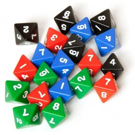 "Cube D8 «Simple"": different colors (in stock)"
