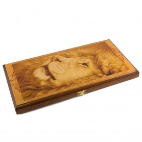 "Backgammon small ""Lion"""