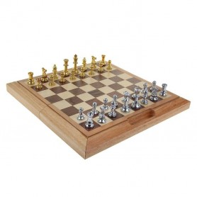 Chess for gift metal