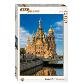 "Puzzle ""Church of the Savior on the Blood"""