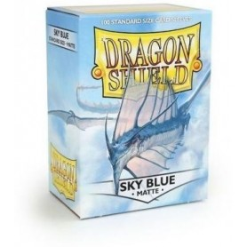 Протекторы «Dragon Shield» матовые Sky Blue (100 шт.)