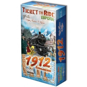 "Настольная игра ""Билет на поезд. Европа: 1912 (Ticket to Ride. Европа: 1912)"""